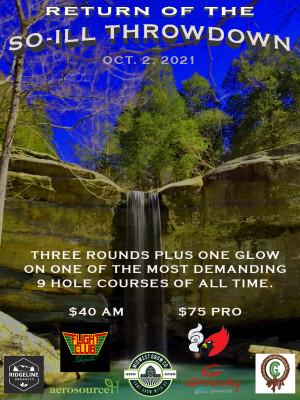 So-iLL Throwdown Extreme Disc Golf graphic