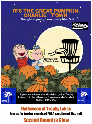 It's The Great Pumpkin, Charlie-Town. Powered By Innova graphic