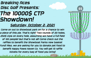 Breaking Aces Disc Golf Presents: The 10000$ CTP Showdown! graphic