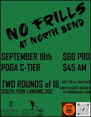 No Frills at North Bend graphic