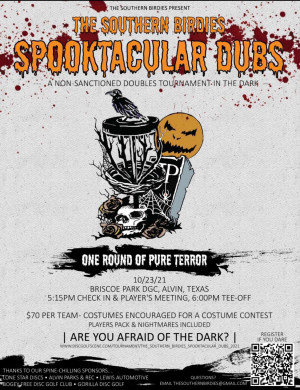 The Southern Birdies Spooktacular Dubs graphic