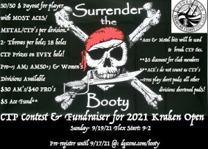 Surrender the Booty CTP Contest & Kraken 2021 Fundraiser graphic