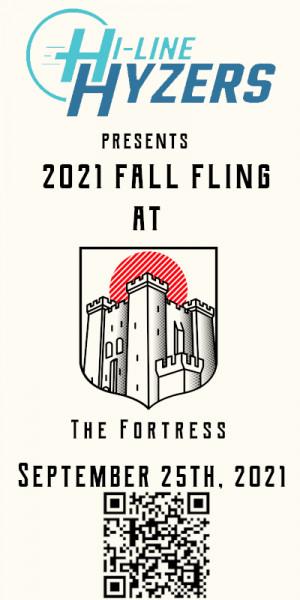 Hi-Line Hyzers Fall Fling graphic