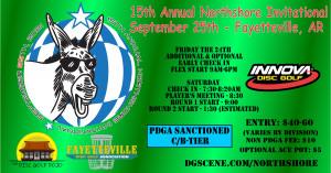 The 15th Annual FDGA Northshore Invitational Driven By Innova graphic