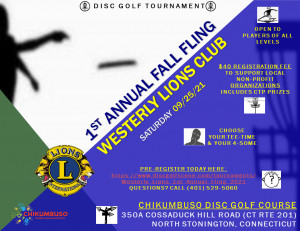 Westerly Lions 1st Annual Fling graphic