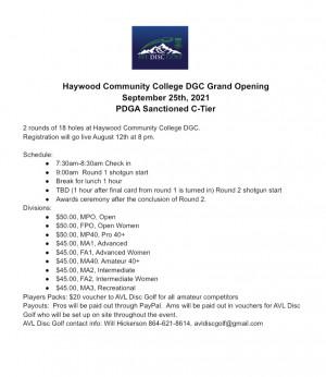 HCC Bobcat Open graphic
