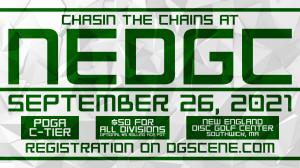 Chasin the Chains at NEDGC graphic