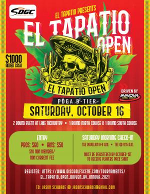 El Tapatio Open, Driven By Innova graphic