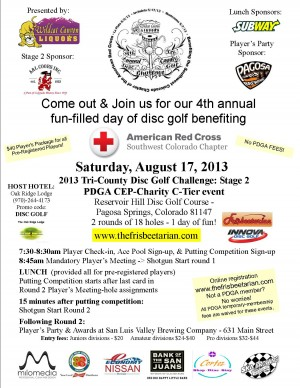2013 Tri-County Disc Golf Challenge: Stage 2 graphic