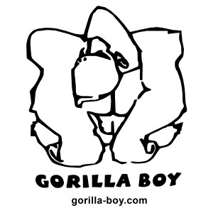 Gorilla Boy Open graphic