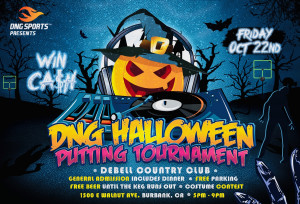 DNG Halloween Putting Tournament graphic