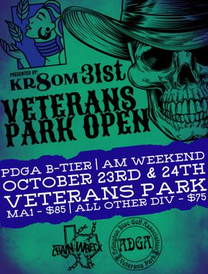 31st Veterans Park Open (Am weekend) graphic