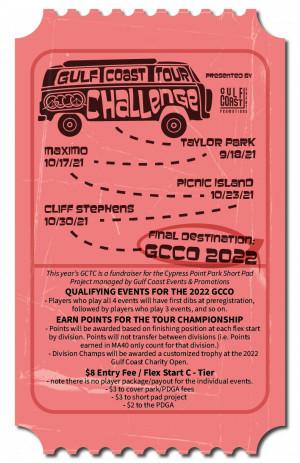 2021 Gulf Coast Tour Challenge - Stop 1 (Taylor Park) graphic