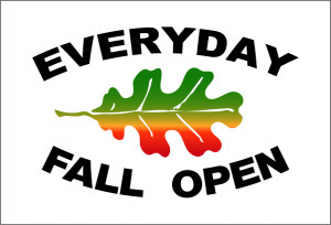 Everyday Fall Open graphic