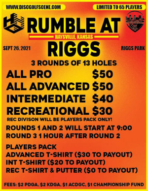 Rumble at Riggs graphic