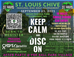 The St. Louis Chive Presents: Keep Calm Disc On! graphic