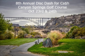 8th Annual Disc Dash for Ca$h graphic