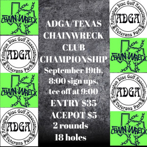 ADGA/TEXAS CHAINWRECK CLUB CHAMPIONSHIP graphic