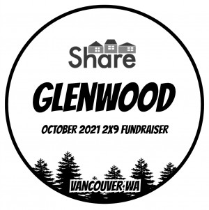 Share Fundraiser at Glenwood 2X9 graphic