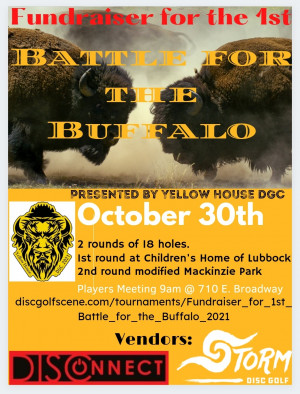 Fundraiser for 1st Battle for the Buffalo graphic