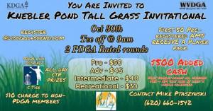 Knebler Pond Tall Grass Invitational 2021 graphic
