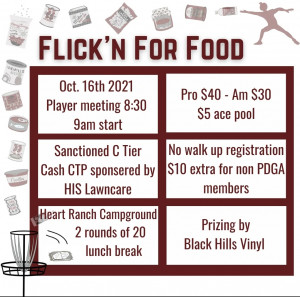 Flick'n for Food graphic