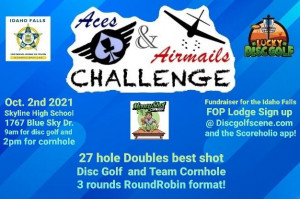 Aces & Airmails Challenge Fundraiser for the Idaho Falls FOP graphic