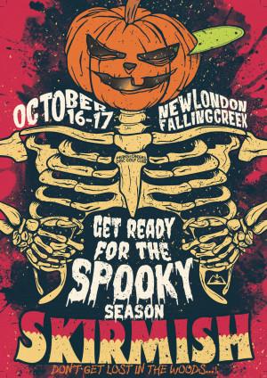 Spooky Season Skirmish graphic