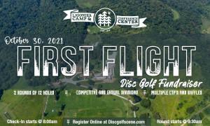 First Flight at Ligonier Camp graphic