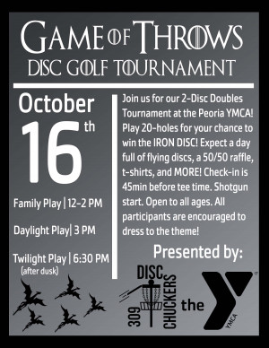 Game of Throws 2-Disc Golf Tournament! graphic