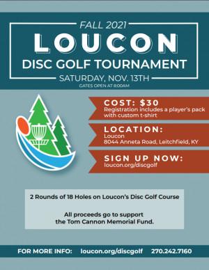Camp Loucon 2021 Tournament graphic