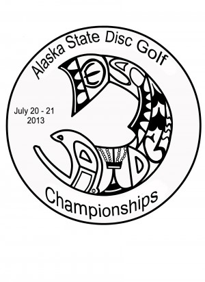 Alaska State Disc Golf Championships 2013 graphic