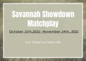 Savannah Showdown Matchplay graphic
