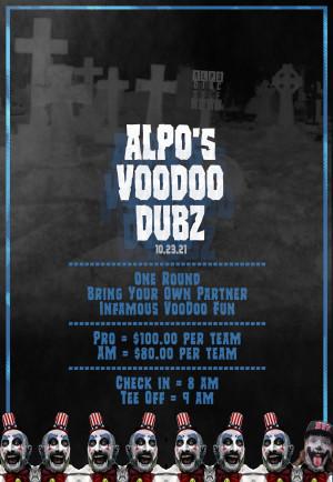 ALPO's VOODOO DUBZ graphic