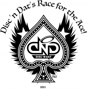 2021 Disc 'n Dat Race for the Ace graphic