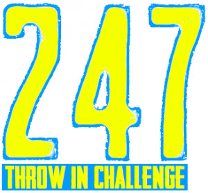 247 Throw In Challenge graphic