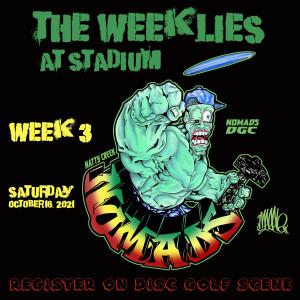 The Weeklies at Stadium - Week 3 graphic