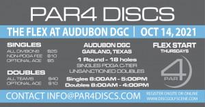 PAR4 Discs Presents the Flex at Audubon 10/14/2021 graphic