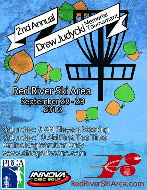 Second Annual Drew Judycki Memorial Disc Golf Tournament graphic