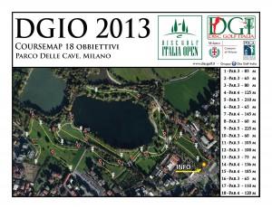 5° DISC GOLF ITALIA OPEN (5°DGIO) - Milan Italy - 10/5-6/2013 graphic