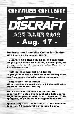 Chambliss Challenge Discraft Ace Race 2013 graphic