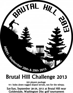 Brutal Hill Challenge 2013 graphic