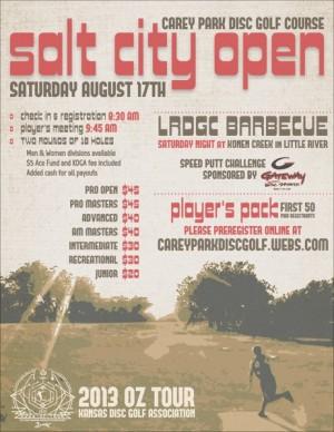 Salt City Open 2013 graphic