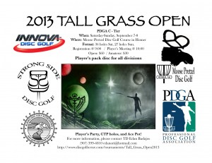 Tall Grass Open 2013 graphic
