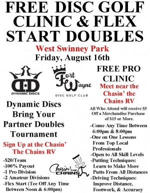 Flex Start Doubles and FREE Clinic graphic