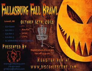 Fallasburg Fall Brawl Presented By Gorilla Boy graphic