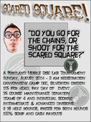 Scared Square! @ Canyonview Camp DGC graphic