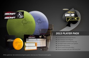 Hamilton Chain Bangers 2013 Discraft Ace Race graphic
