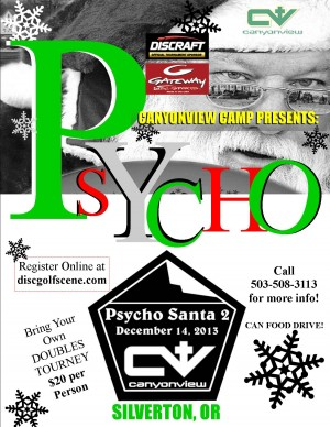 "Pyscho Santa's Mandotorium #2... Introducing ""DubsCali""... Discology's Twisted Sister graphic"