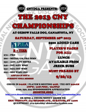 Central New York Championships graphic